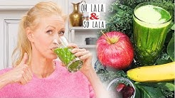 Der beste grüne Smoothies gibt euch viel Power * einfaches Rezept * Diät * Chlorophyll