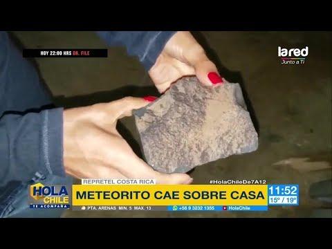 Meteorito impacta a casa de Costa Rica y destruye su techo