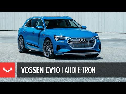 "Audi e-tron Electric SUV | Vossen CV10 22"" Concave Wheel"