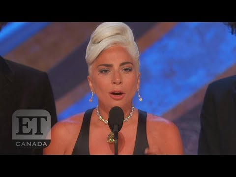 Lady Gaga Wins Best Original Song Oscar