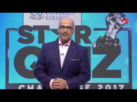 Skyline University STAR Quiz Challenge 2017 on STAR Plus - Ep 03