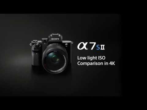 α7S II - 4K low-light ISO comparison movie   Sony   Alpha   A7S II