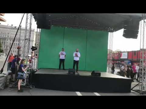 """Главный редактор газеты """"Черновик"""" выступил на митинге в Москве в поддержку Абдулмумина Гаджиева"""