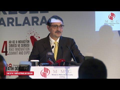 MMG 4. Arge & İnovasyon Zirvesi Protokol Konuşması: Fatih Dönmez Enerji Ve Tabii Kaynaklar Bakanı