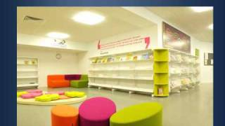 Children's Library Furniture & Interior Design By Bci.mp4