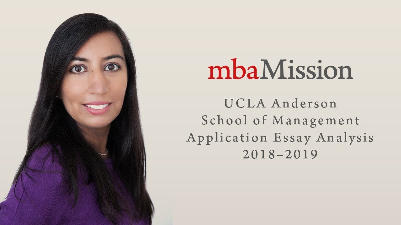 E Business Essay Ucla Anderson Application Essay Analysis  Small Essays In English also Writing A High School Essay Ucla Anderson Application Essay Analysis   Youtube Importance Of Good Health Essay