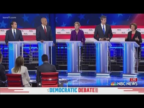 First Democratic debate of 2020 election