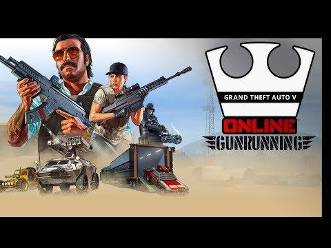 Jirka, GEJMR, Baxtrix a MarweX Hraje - GTA V - GUNRUNNING [PC] [LIVE]