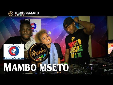 Susumila & Avril Live On Mambo Mseto (Radio Citizen) With Mzazi Willy Tuva & Dj Flash Kenya