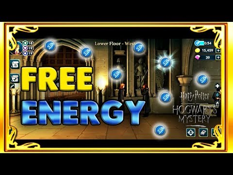 ALL 7 HIDDEN FREE ENERGY LOCATIONS + ENERGY SAVING TIPS - HARRY POTTER: HOGWARTS MYSTERY