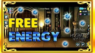 ALL 7 HIDDEN FREE ENERGY LOCATIONS + ENERGY SAVING TIPS - HARRY POTTER: HOGWARTS MYSTERY