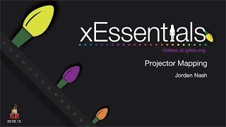 xEssentials E21 Projection Mapping met behulp van After Effects