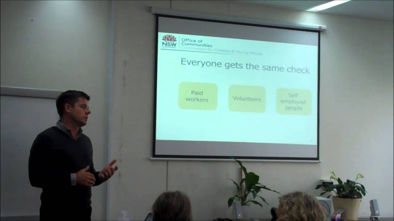 The New Working with Children Check - NSW Part 1 - YouTube