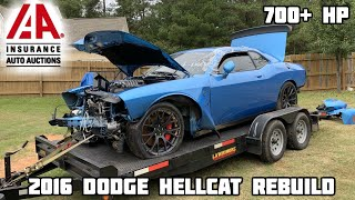Download Rebuilding a Wrecked 2016 Dodge Hellcat Mp3 and Videos