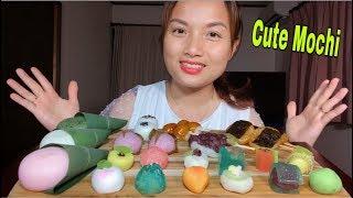 🇯🇵Ăn Wagashi Mochi, Mochi & Mochi Dango Siêu Cute Hột Me - Eat Mochi #297