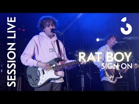 """Rat Boy - """"Sign On"""" - Session Live"""