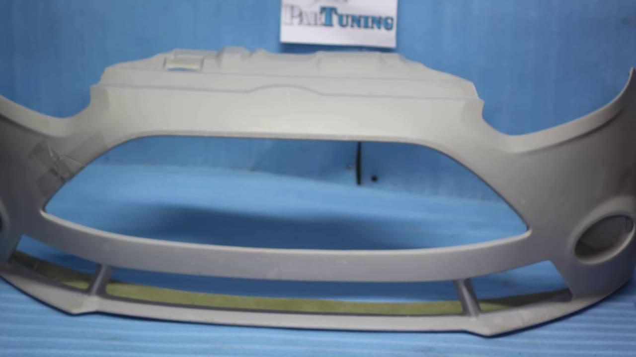 Установка защитной сетки радиатора на Ford Focus II рестайлинг .