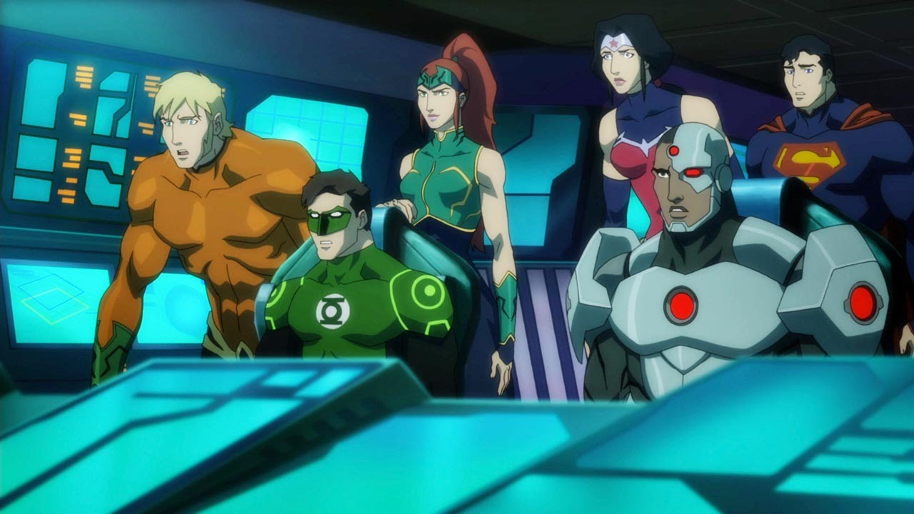 justice league throne of atlantis deutsch