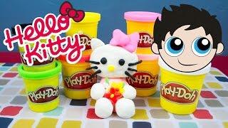 Hello Kitty Play-Doh Tutorial