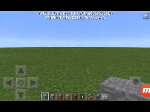 Cool glitch I found in Minecraft PE 0.15.0!
