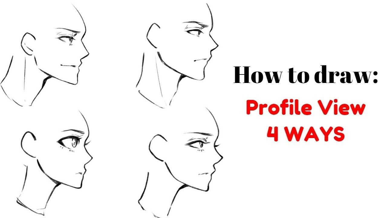 How To Draw 1 2 View Side View Youtube