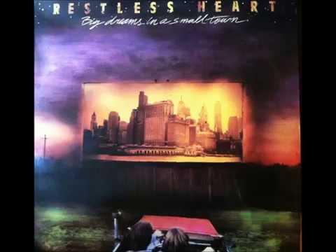 Bluest Eyes In Texas , Restless Heart , 1988 Vinyl