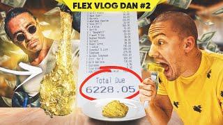STEK OD ZLATA - NAJSKUPLJA HRANA NA SVETU *6228 eura* - DUBAI FLEX VLOG #2