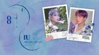"Gambar cover 1 Hour ✗ IU (아이유) ""EIGHT (에잇) (feat. BTS SUGA)"