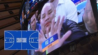 Fat Joe and His Crew Takes Complex Courtside at MSG