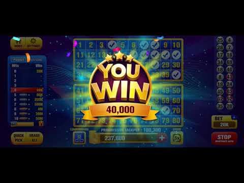 Keno Jackpot Keno Games With Free Bonus Games Apps On Google Play