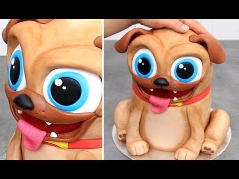 Chocolate Dog Cake By Cakes Stepbystep Youtube