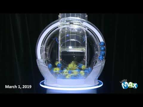 Lotto Max Draw, - March 1,  2019