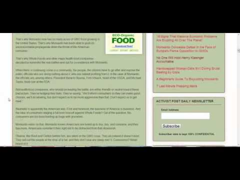 Europe Rejects GMO; US Won't Even Label!