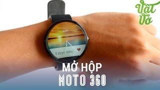 Vật Vờ - Mở hộp & đánh giá nhanh Moto 360: smartwatch Androidwear màn hình to nhất(Giới thiệu, so sánh Moto 360 mở hộp, so sánh,camera,đánh giá,trải nghiệm Moto 360 Các bạn có thể tìm kiếm video mở hộp, đánh giá chi tiết, hiệu năng, thời..., 2015-08-16T12:30:01.000Z)