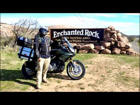 Enchanted Rock Adventure 2up On Aprilia Caponord 1200 Rally