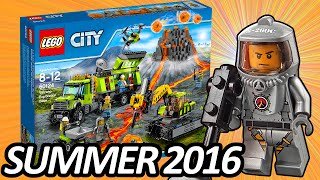 LEGO CITY Volcano Exploration Base (60124) 2016 Summer Set ALL Official Pictures - レゴ シティ