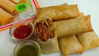 Chinese Spring Rolls Recipe | Iftar Recipe In Ramadan | Kids Lunchbox Recipe