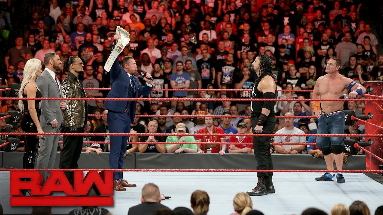 Download The Miz sounds off on John Cena and Roman Reigns: Raw, Aug. 21, 2017