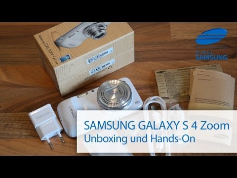 Samsung Galaxy S4 Zoom Unboxing deutsch und ein zweiter Eindruck