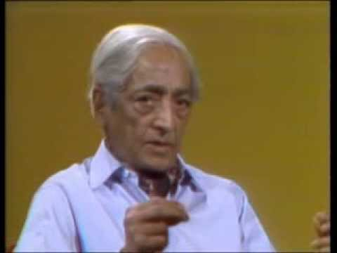 J. Krishnamurti - San Diego 1974 - Conversation 4 - What is a responsible human being?