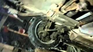 Замена задних амортизаторов Mazda 3 I
