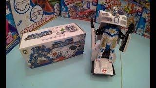 TOBOT POLICE TRANSFORMER Unboxing toys for kids