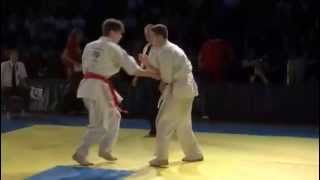 Jordan Prescott (GB) v David Toth (Hungary) 1st Round at 4th IFK World Tournament 2013