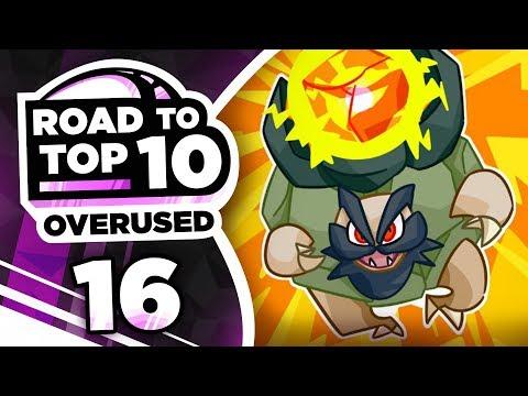 Pokemon Showdown Road to Top Ten: Pokemon Ultra Sun & Moon OU w/ PokeaimMD #16