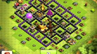 FULL DRAGON ATTACK New Graphics - Clash of Clans
