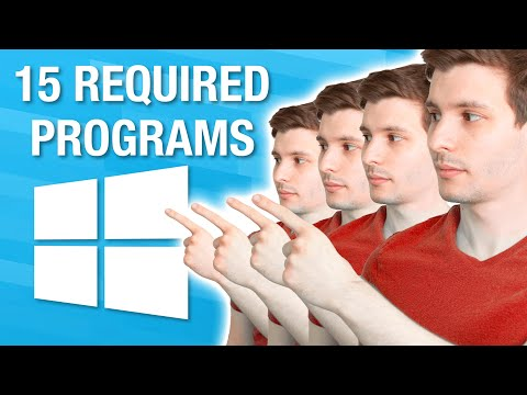Top 15 REQUIRED Windows Programs Everyone Should Have