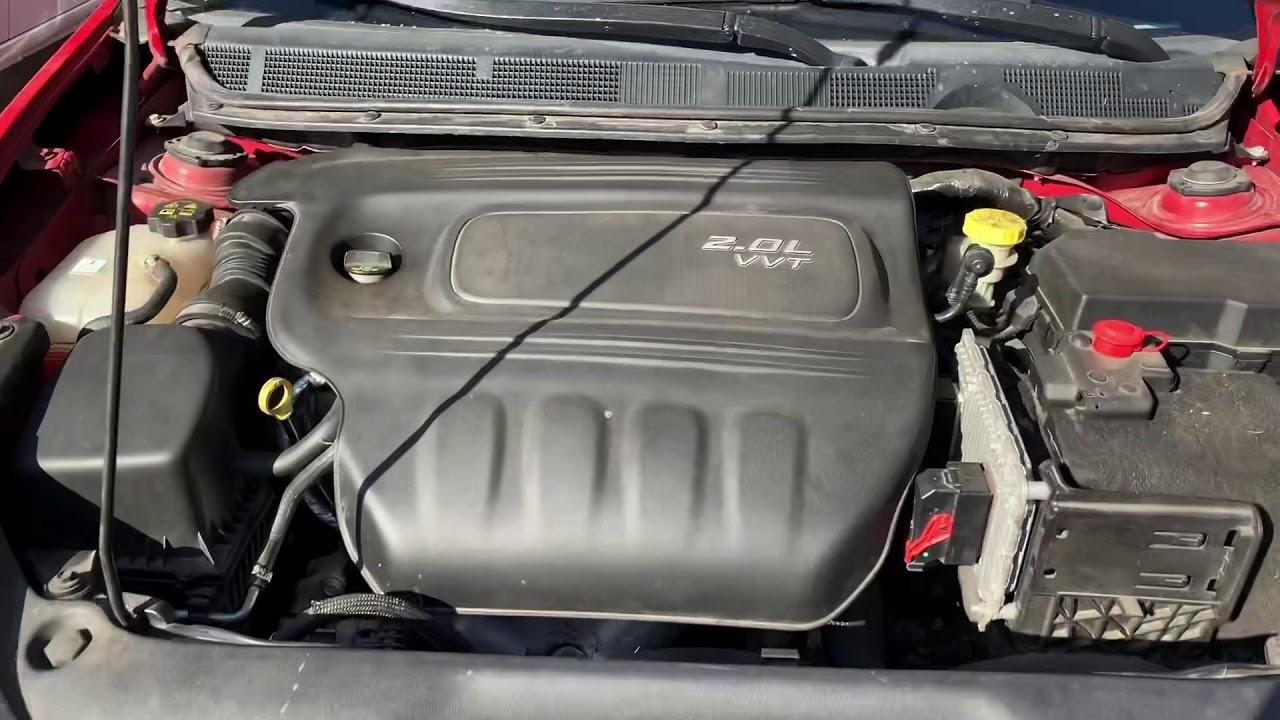Oil Pressure Sensor 2013 Dodge Dart - YouTube