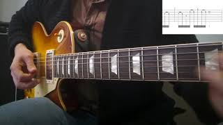 Legato sequencing lick - Gibson R8 Les Paul - Two Rock Studio Pro 35