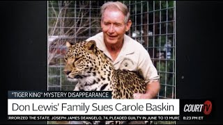 Carole Baskin Sued bỳ Missing Millionaire Ex-Husband Don Lewis's Family