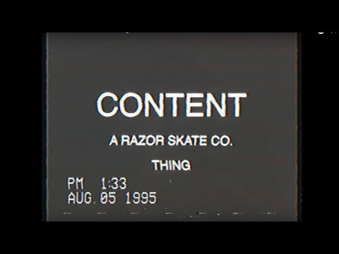 SHIFT CONTENT - A Razors Skate Co. Thing